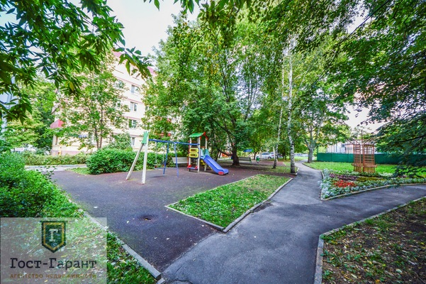 Адрес: Новая Башиловка улица, дом 6, агентство недвижимости Гост-Гарант, планировка: Индивидуальный проект, комнат: 2. Фото 11