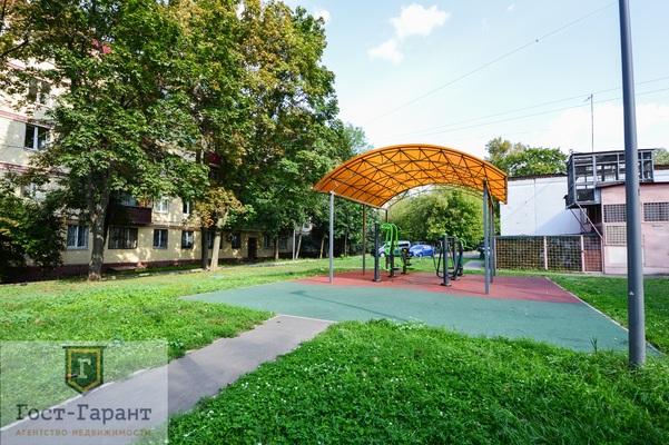 Адрес: Новая Башиловка улица, дом 6, агентство недвижимости Гост-Гарант, планировка: Индивидуальный проект, комнат: 2. Фото 12