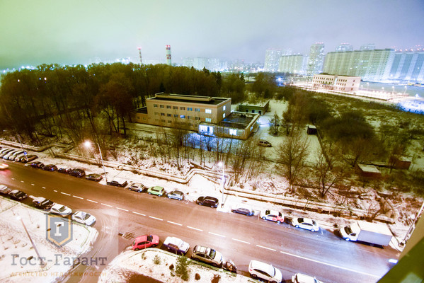 1-комнатная в мкр. Град Московский. Фото 9
