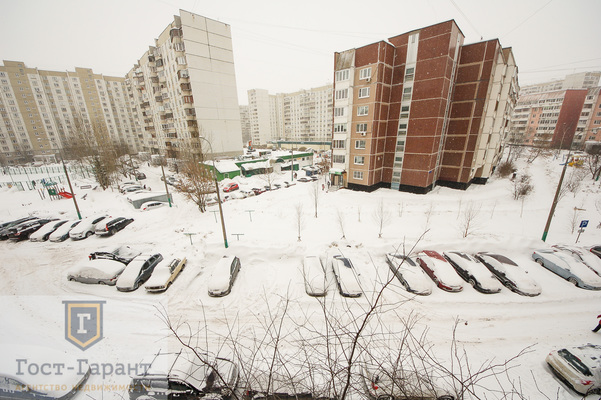 Адрес: Новокосинская улица, 6к2, агентство недвижимости Гост-Гарант, планировка: П-46, комнат: 2. Фото 15