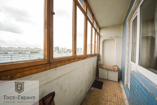 Адрес: Борисовский проезд, дом 11к1, агентство недвижимости Гост-Гарант, планировка: П46, комнат: 1. Фото 6