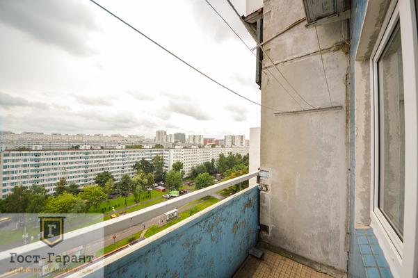 Адрес: Борисовский проезд, дом 11к1, агентство недвижимости Гост-Гарант, планировка: П46, комнат: 1. Фото 3