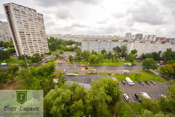 Адрес: Борисовский проезд, дом 11к1, агентство недвижимости Гост-Гарант, планировка: П46, комнат: 1. Фото 7