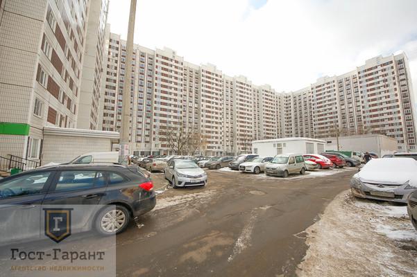 Адрес: Хабаровская улица, дом 2, агентство недвижимости Гост-Гарант, планировка: П44, комнат: 1. Фото 10