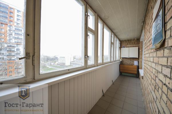 Адрес: Дмитрия Ульянова улица, дом 43к1, агентство недвижимости Гост-Гарант, планировка: П-29, комнат: 2. Фото 8
