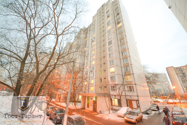 Адрес: Балаклавский проспект, дом 16К2, агентство недвижимости Гост-Гарант, планировка: П44, комнат: 2. Фото 9
