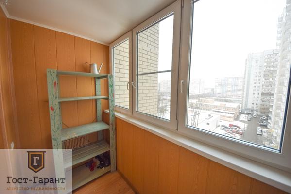 Адрес: Рублевское шоссе, дом 93к2, агентство недвижимости Гост-Гарант, планировка: П-111М, комнат: 2. Фото 3