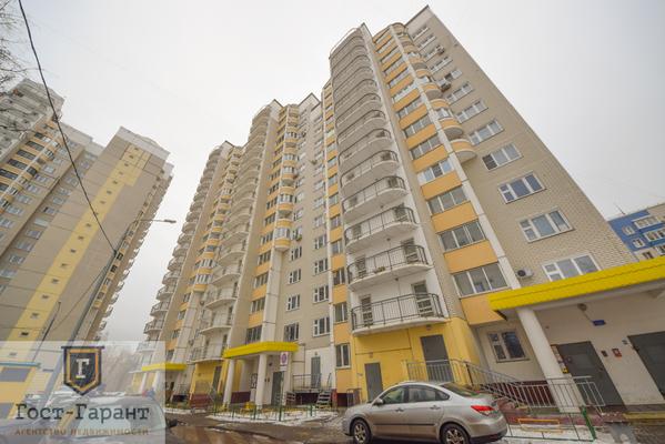 Адрес: Рублевское шоссе, дом 93к2, агентство недвижимости Гост-Гарант, планировка: П-111М, комнат: 2. Фото 14