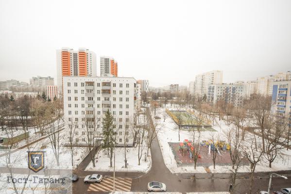 Адрес: Рублевское шоссе, дом 93к2, агентство недвижимости Гост-Гарант, планировка: П-111М, комнат: 2. Фото 12