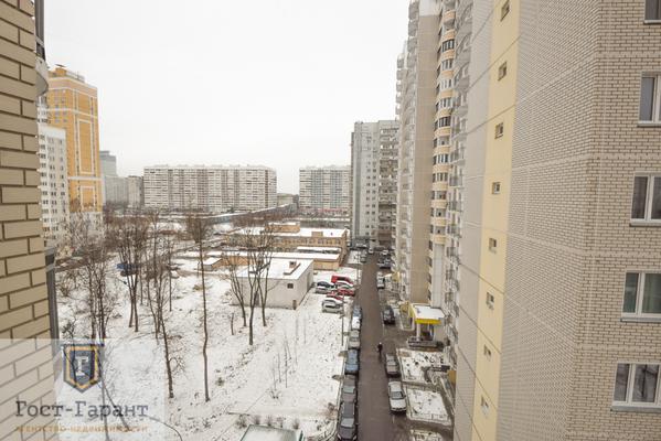 Адрес: Рублевское шоссе, дом 93к2, агентство недвижимости Гост-Гарант, планировка: П-111М, комнат: 2. Фото 13