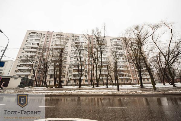 Адрес: 2-я Пугачевская улица, дом 3к1, агентство недвижимости Гост-Гарант, планировка: П-18, комнат: 2. Фото 14