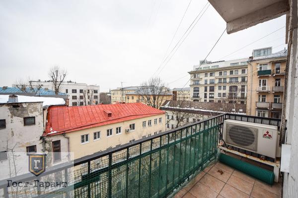 Адрес: Казарменный переулок, 8с2, агентство недвижимости Гост-Гарант, планировка: Индивидуальный проект , комнат: 3. Фото 8