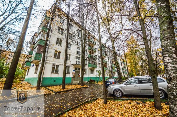 Адрес: Севастопольский проспект, дом 46к5, агентство недвижимости Гост-Гарант, планировка: И-510, комнат: 2. Фото 11