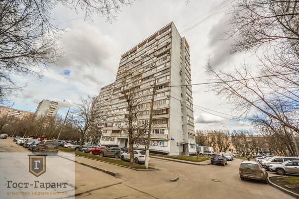 Адрес: Варшавское шоссе, дом 70к3, агентство недвижимости Гост-Гарант, планировка: П-68, комнат: 2. Фото 13