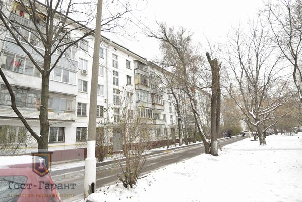 Адрес: Каспийская улица, дом 18к1 , агентство недвижимости Гост-Гарант, планировка: I-510 (1-510), комнат: 2. Фото 12