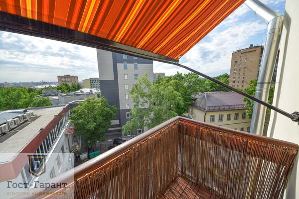 Адрес: улица Воронцово Поле дом 5-7с8, агентство недвижимости Гост-Гарант, планировка: индивидуальный проект, комнат: 2. Фото 8