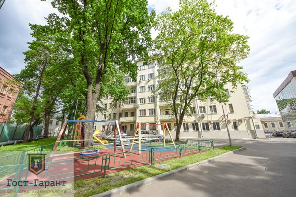 Адрес: улица Воронцово Поле дом 5-7с8, агентство недвижимости Гост-Гарант, планировка: индивидуальный проект, комнат: 2. Фото 19