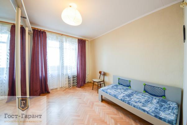 Адрес: Бирюлевская улица, дом 3к2, агентство недвижимости Гост-Гарант, планировка: И-209А, комнат: 3. Фото 9