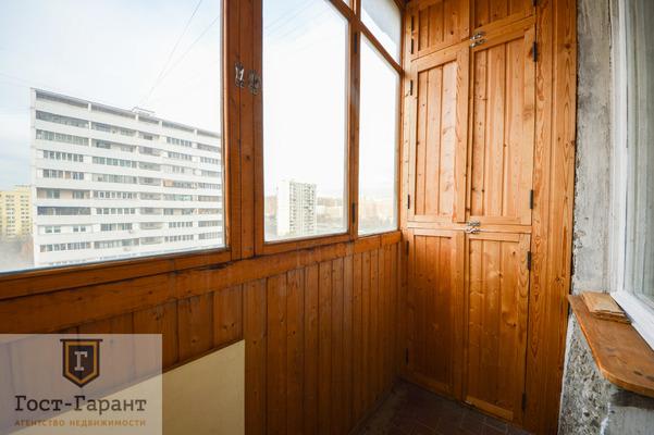 Адрес: Бирюлевская улица, дом 3к2, агентство недвижимости Гост-Гарант, планировка: И-209А, комнат: 3. Фото 11