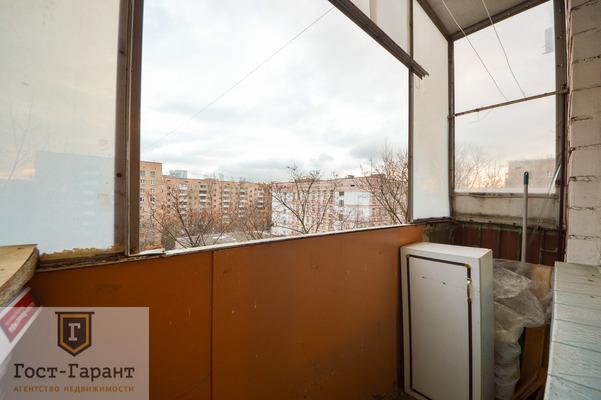 Адрес: Симоновский Вал улица, дом 16к2, агентство недвижимости Гост-Гарант, планировка: П-18, комнат: 2. Фото 8