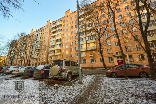 Адрес: Новопетровская улица, дом 16А, агентство недвижимости Гост-Гарант, планировка: П-29, комнат: 2. Фото 12