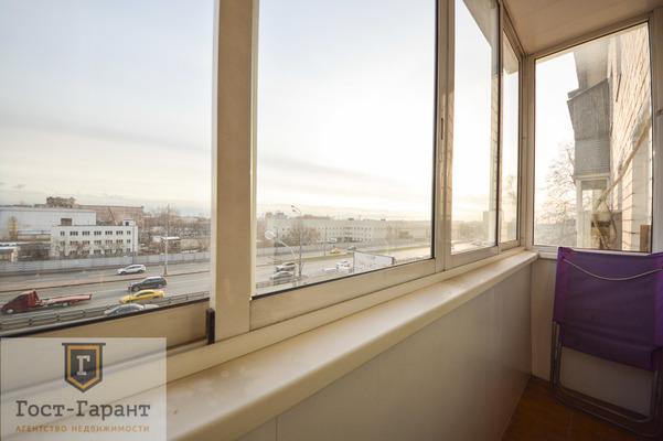Адрес: Варшавское шоссе, дом 90к1, агентство недвижимости Гост-Гарант, планировка: П-46, комнат: 2. Фото 8
