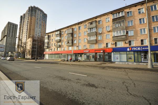 Адрес: Варшавское шоссе, дом 90к1, агентство недвижимости Гост-Гарант, планировка: П-46, комнат: 2. Фото 9