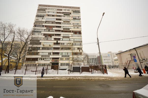 Адрес: Стремянный переулок, дом 21, агентство недвижимости Гост-Гарант, планировка: И-209А, комнат: 3. Фото 16
