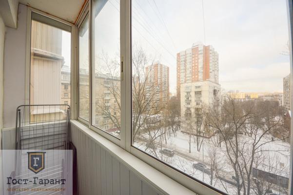 Адрес: Пырьева улица, дом 8, агентство недвижимости Гост-Гарант, планировка: П-18, комнат: 2. Фото 4
