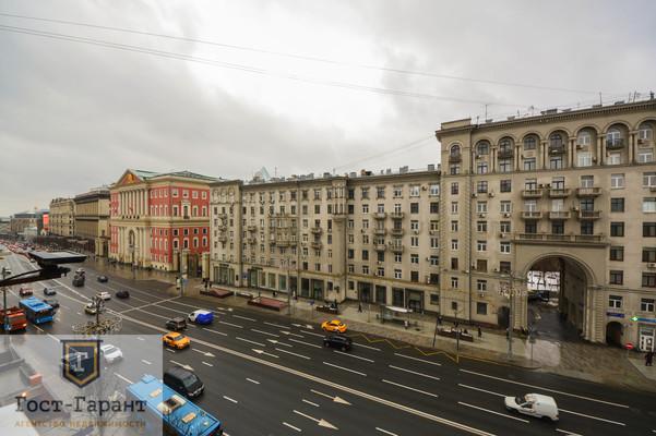 Адрес: Тверская улица, дом 8к1, агентство недвижимости Гост-Гарант, планировка: Сталинский дом, комнат: 3. Фото 15