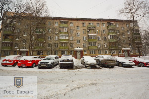 Адрес: Нижегородская улица, дом 92к2, агентство недвижимости Гост-Гарант, планировка: I-511, комнат: 2. Фото 13