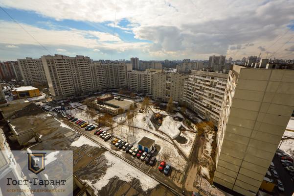 Адрес: Братиславская улица, дом 26, агентство недвижимости Гост-Гарант, планировка: П-44, комнат: 1. Фото 8