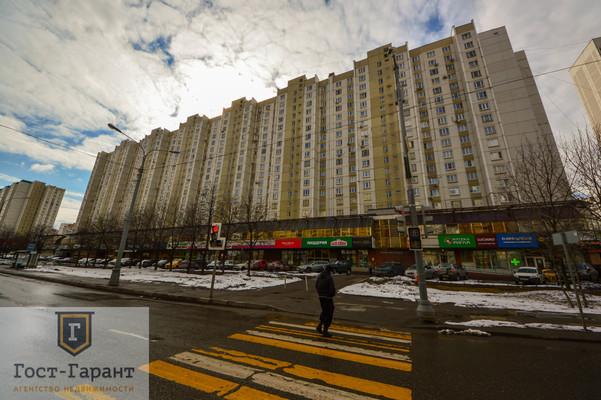 Адрес: Братиславская улица, дом 26, агентство недвижимости Гост-Гарант, планировка: П-44, комнат: 1. Фото 9