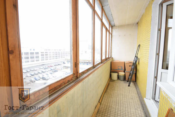 Адрес: Борисовский проезд, 44к3, агентство недвижимости Гост-Гарант, планировка: 1605-АМ, комнат: 1. Фото 6