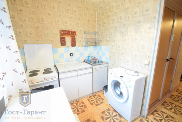 Адрес: Борисовский проезд, 44к3, агентство недвижимости Гост-Гарант, планировка: 1605-АМ, комнат: 1. Фото 3